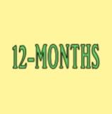 12-Months (Gold)